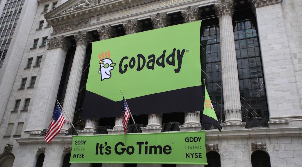 GoDaddy web hosting services (retail)